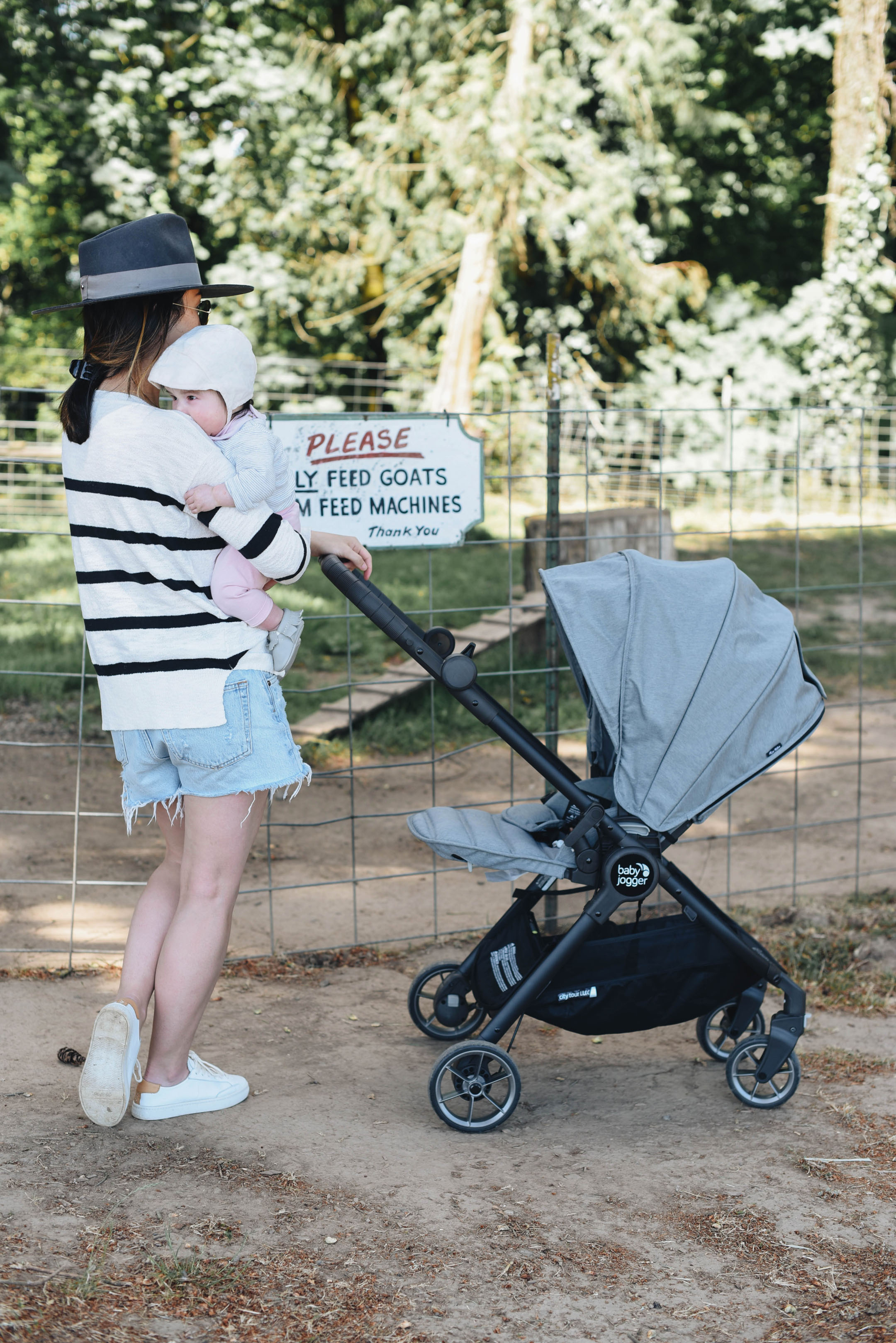 Crystalin Marie x Baby Jogger City Tour Lux Stroller