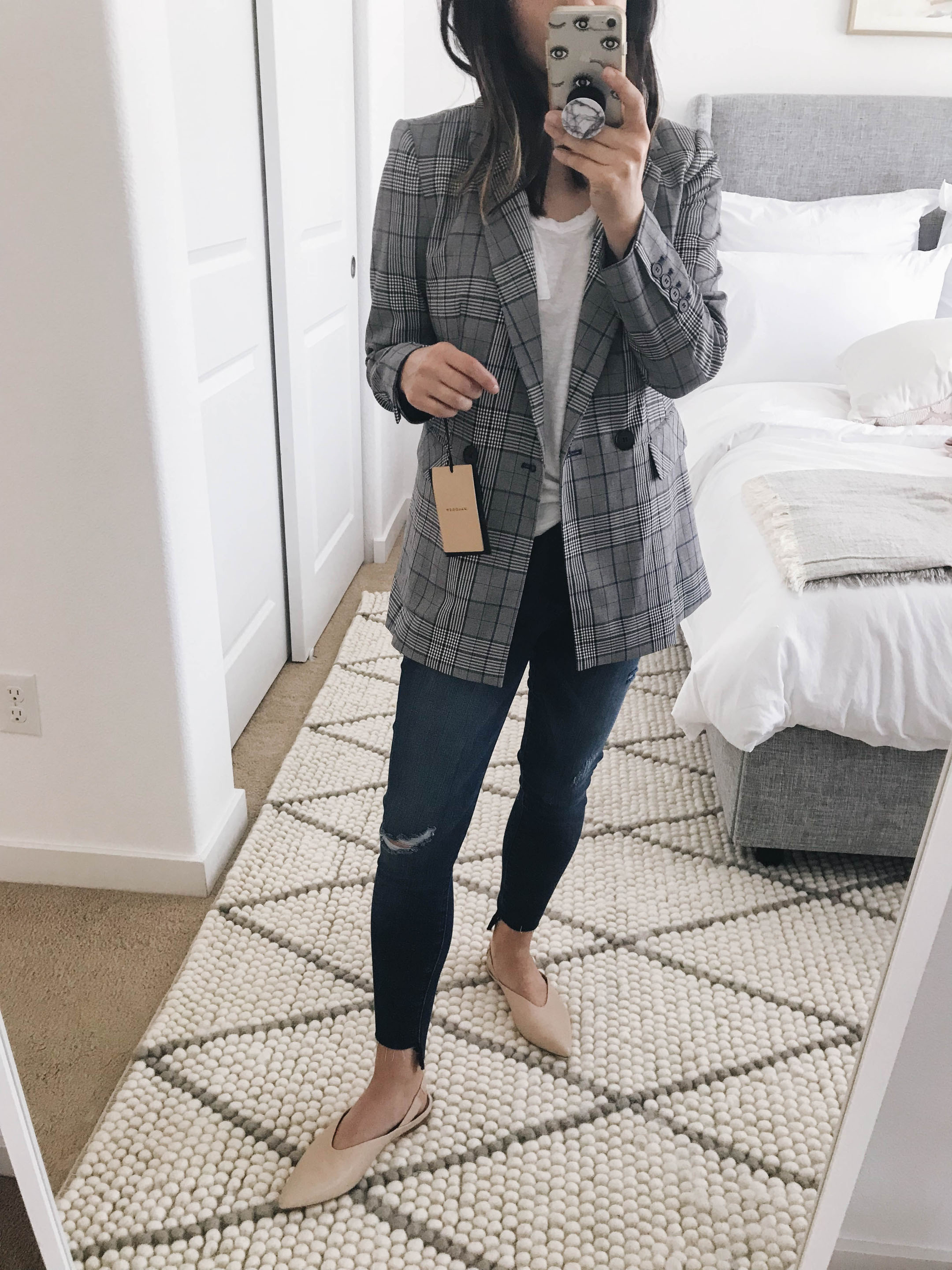 Halogen plaid blazer 2