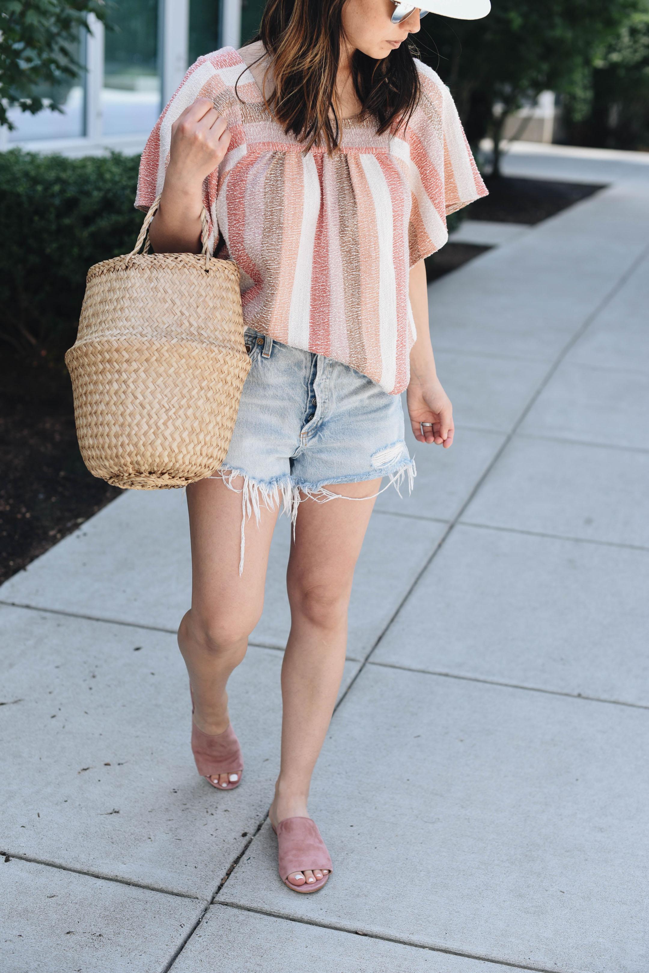 M.Gemi pink slide sandals
