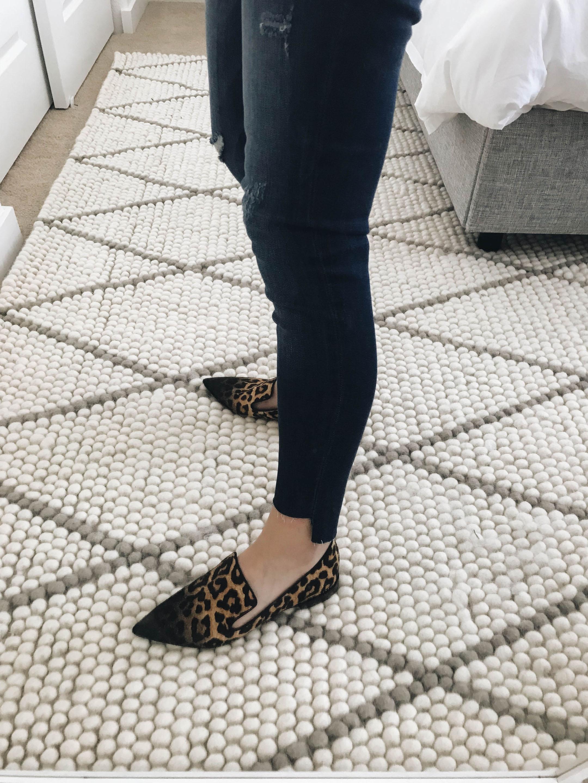 Sarto by Franco Sarto leopard loafers 1