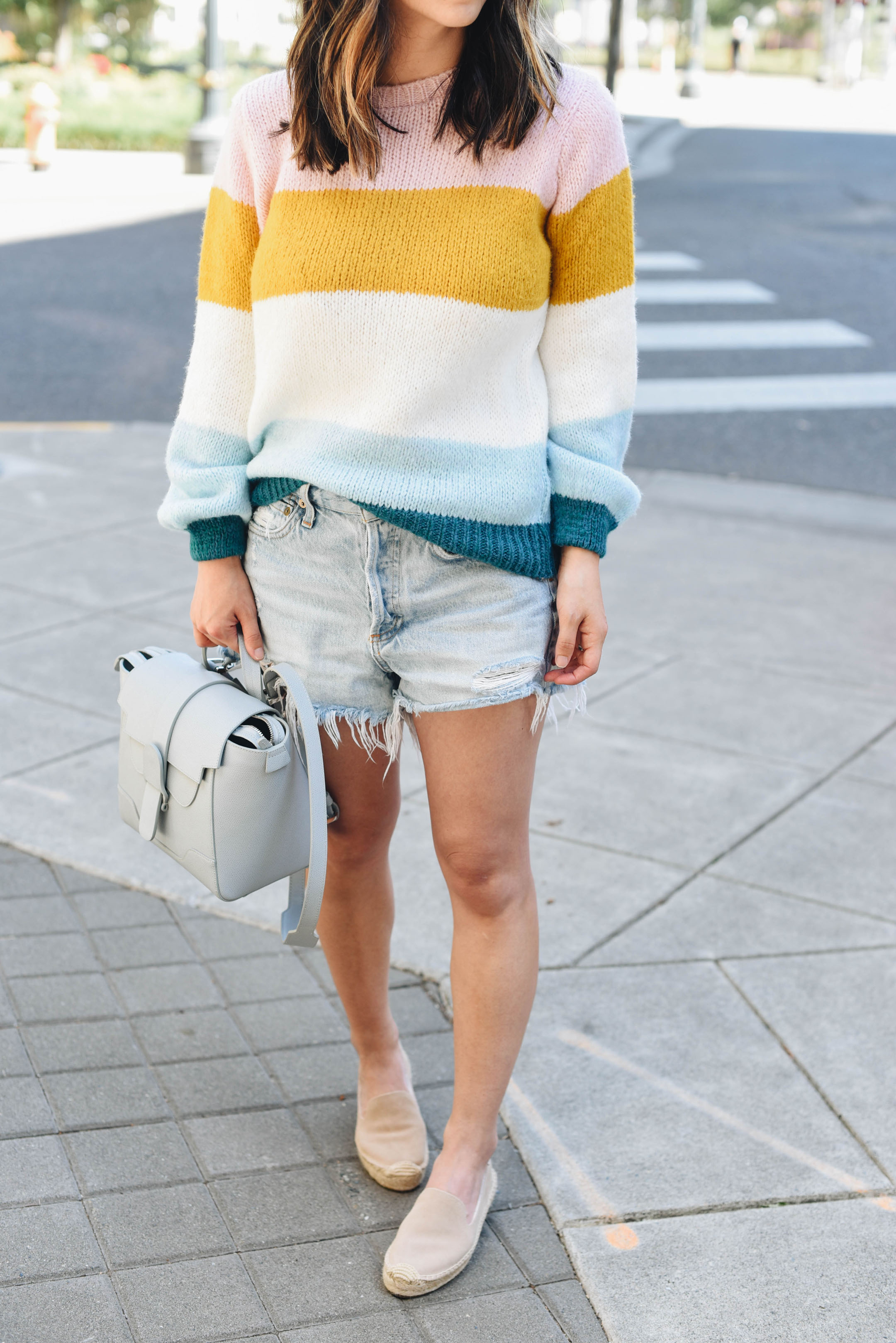 Topshop Colorblock knit pullover 3