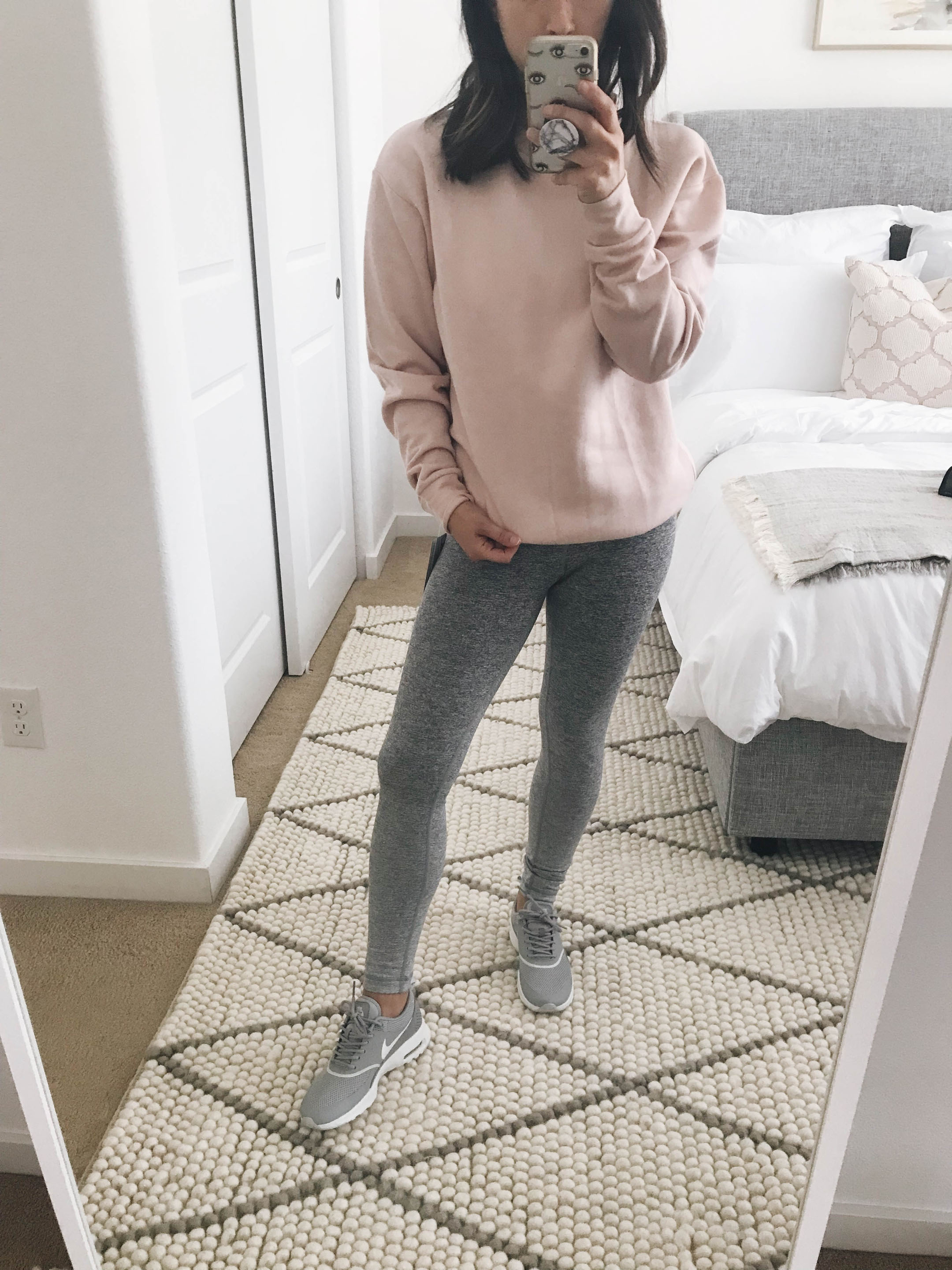 Topshop pink pullover 1