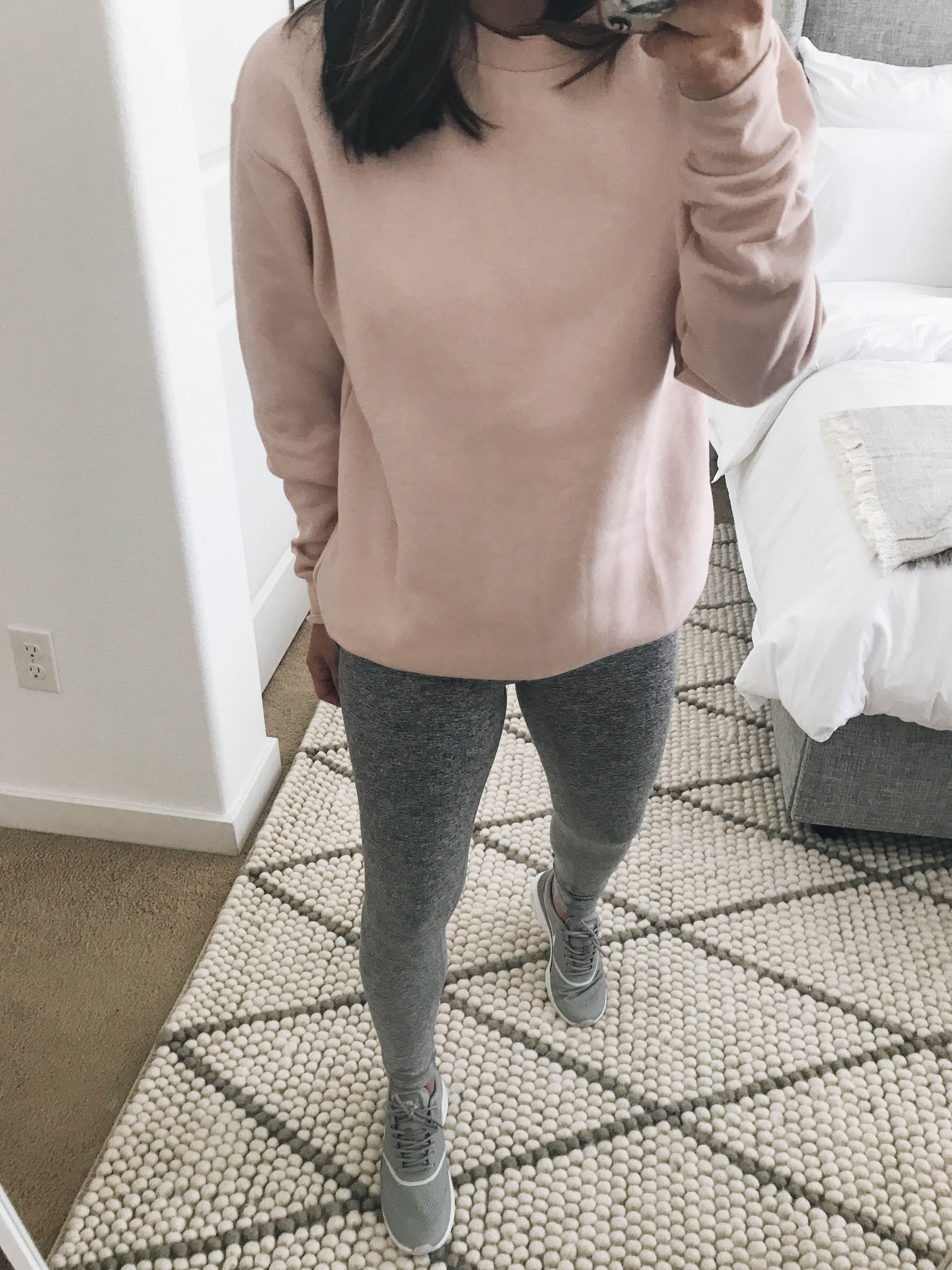 Topshop pink pullover 2