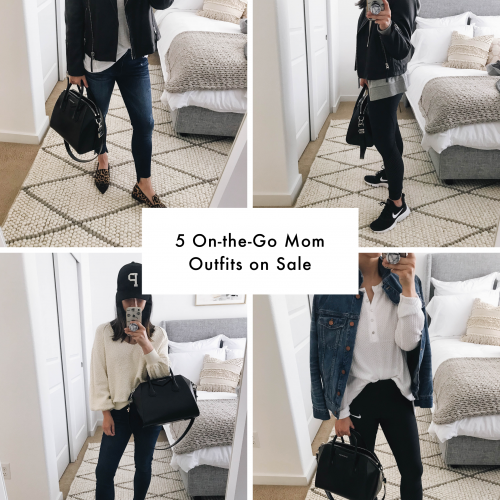 on the go mom outfits from Nordstrom Anniversary Sale