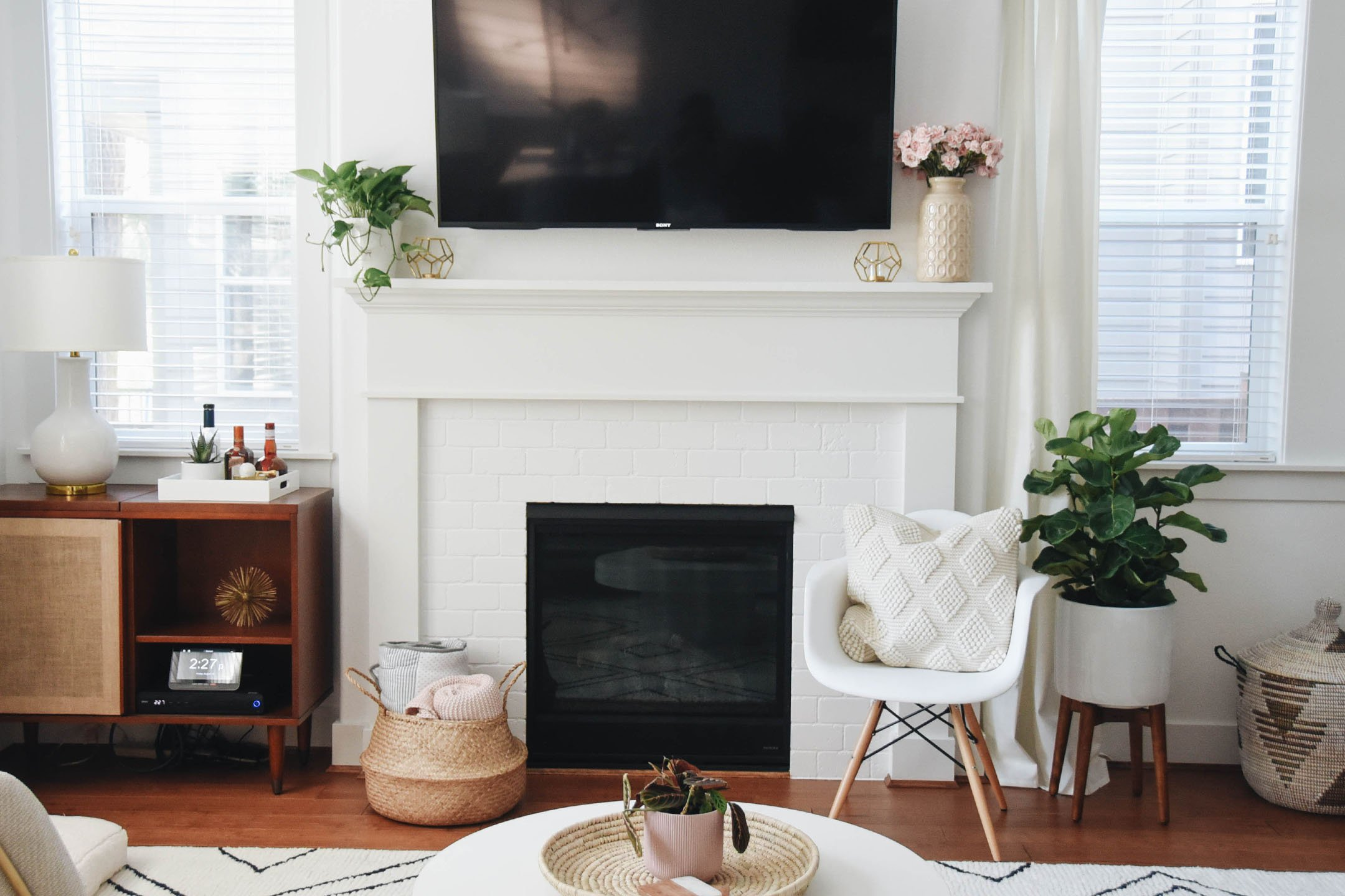 Fireplace Mantle Makeover With The Home Depot Crystalin Marie