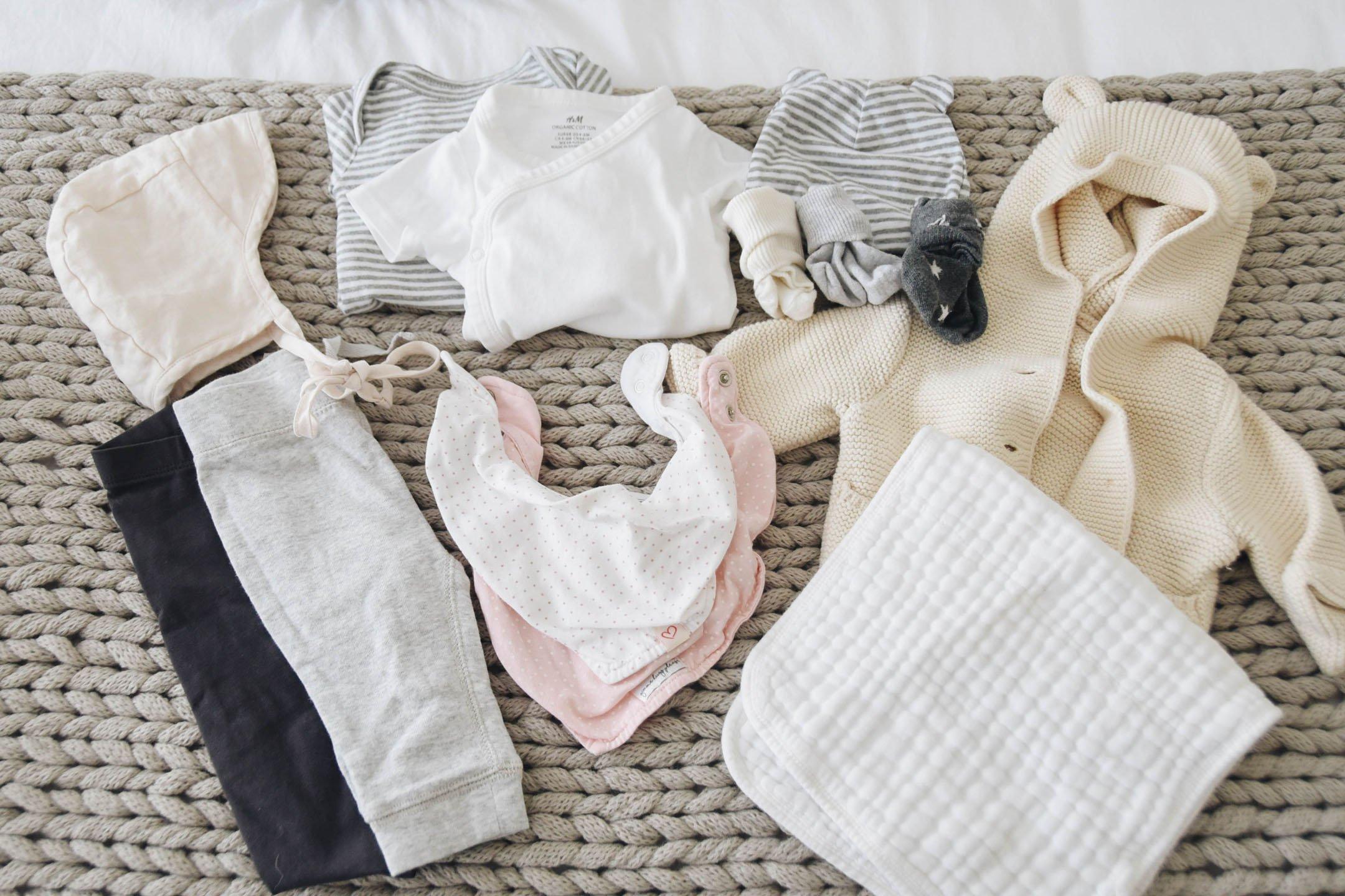 Extra clothes for diaper bag