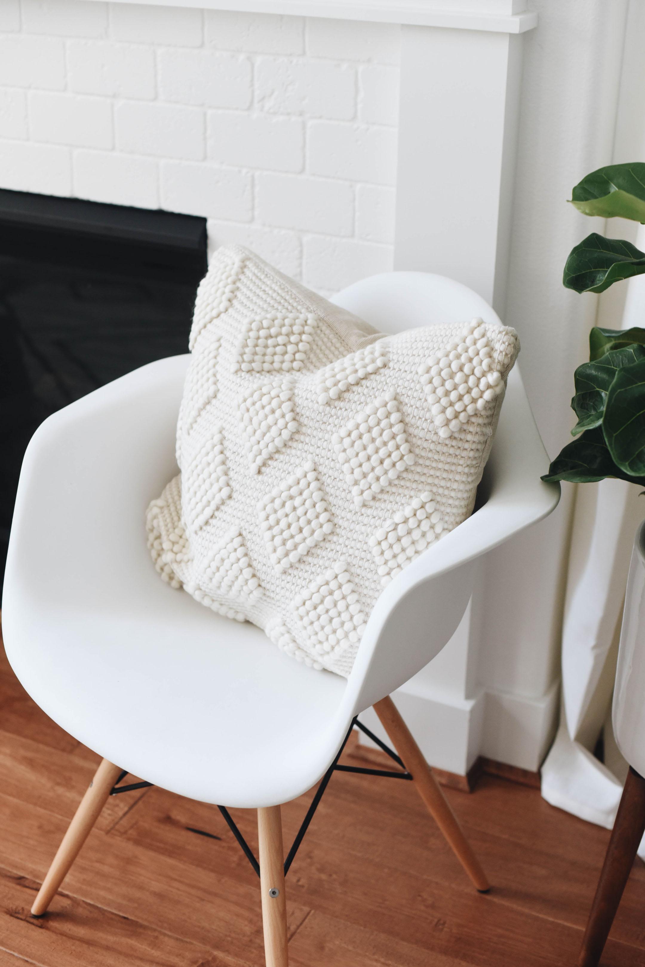Home Depot throw pillows