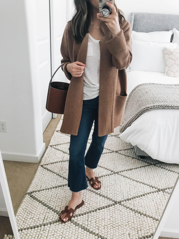 Madewell sweater coat