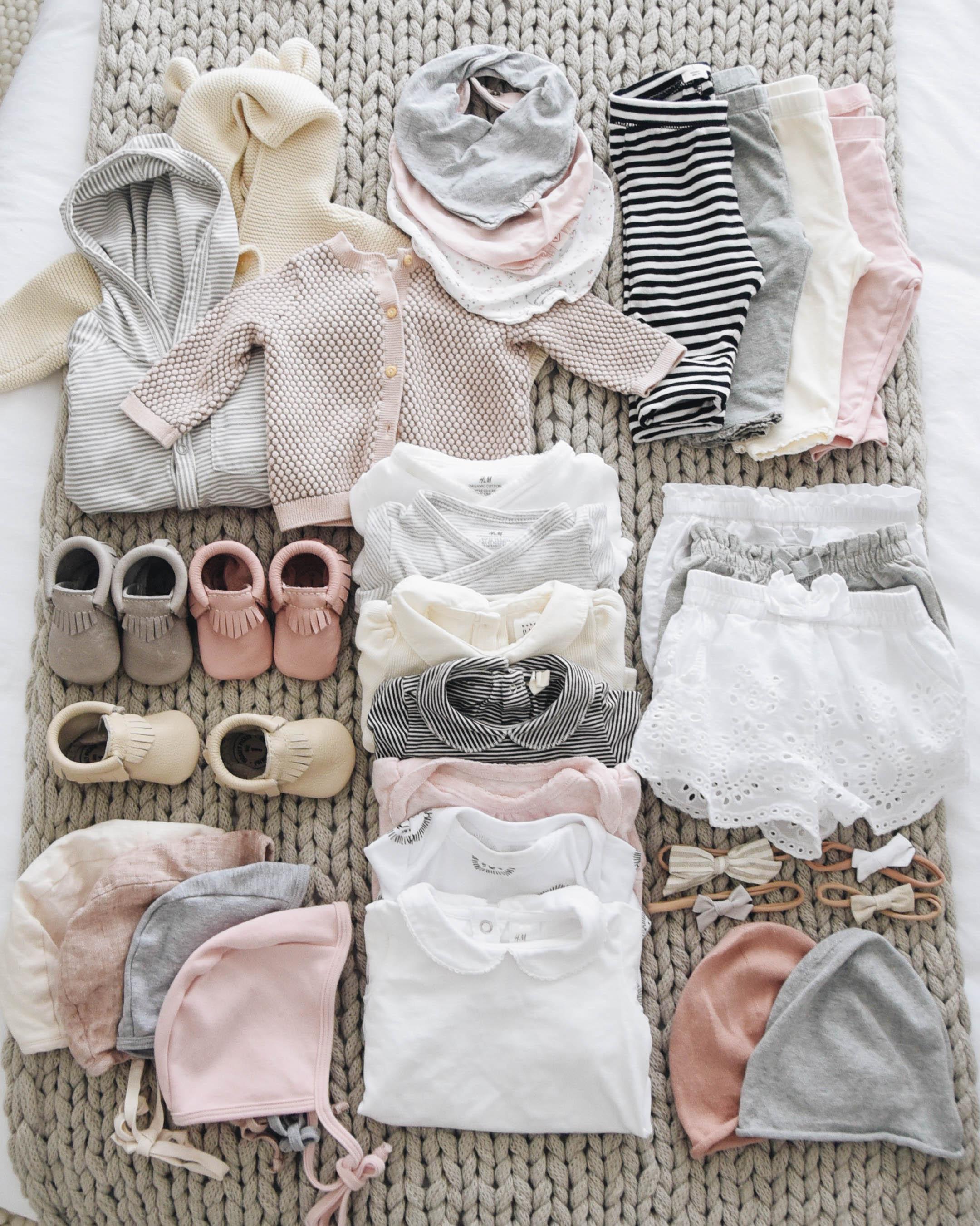 Baby capsule wardrobe
