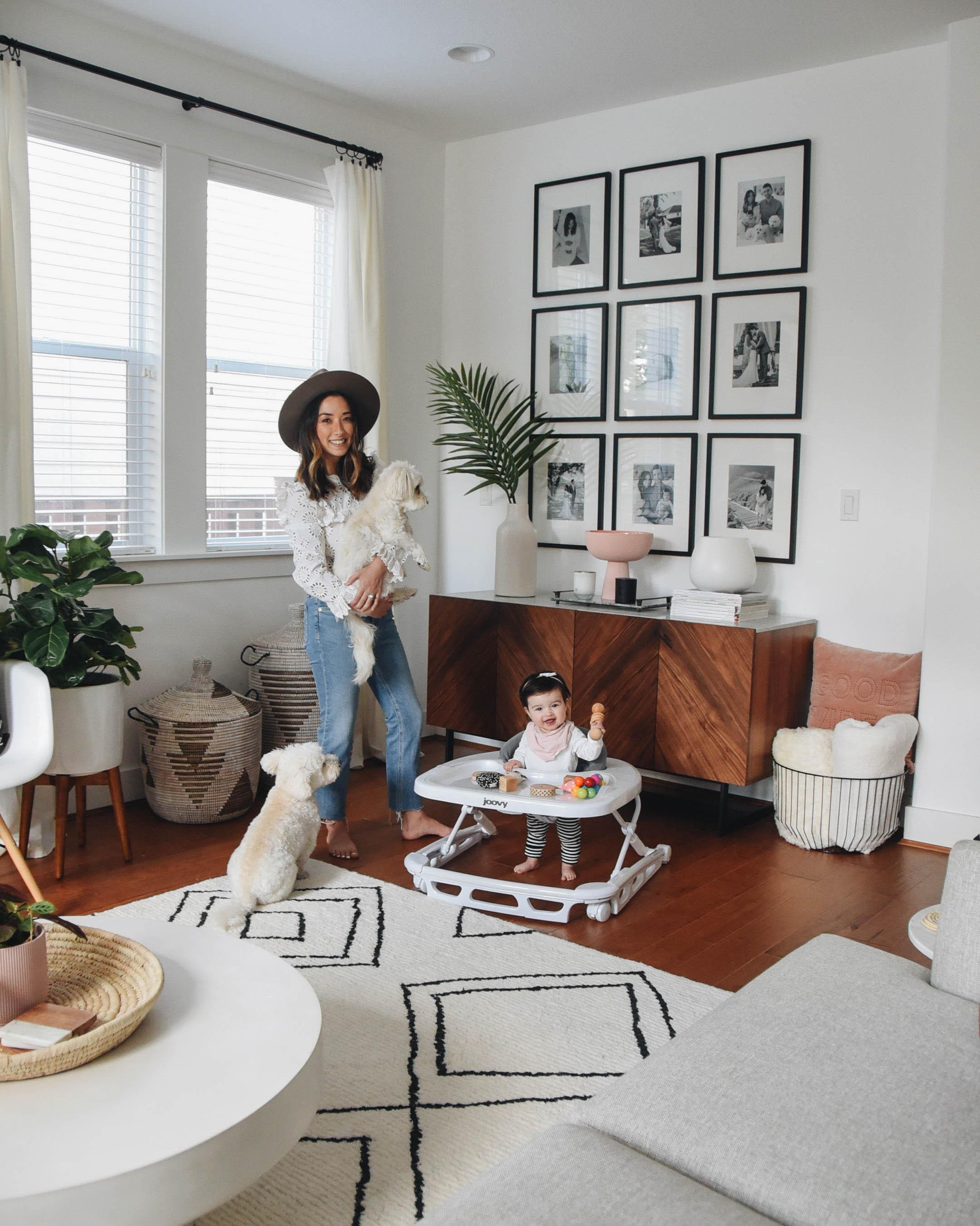 Crystalin Marie living room