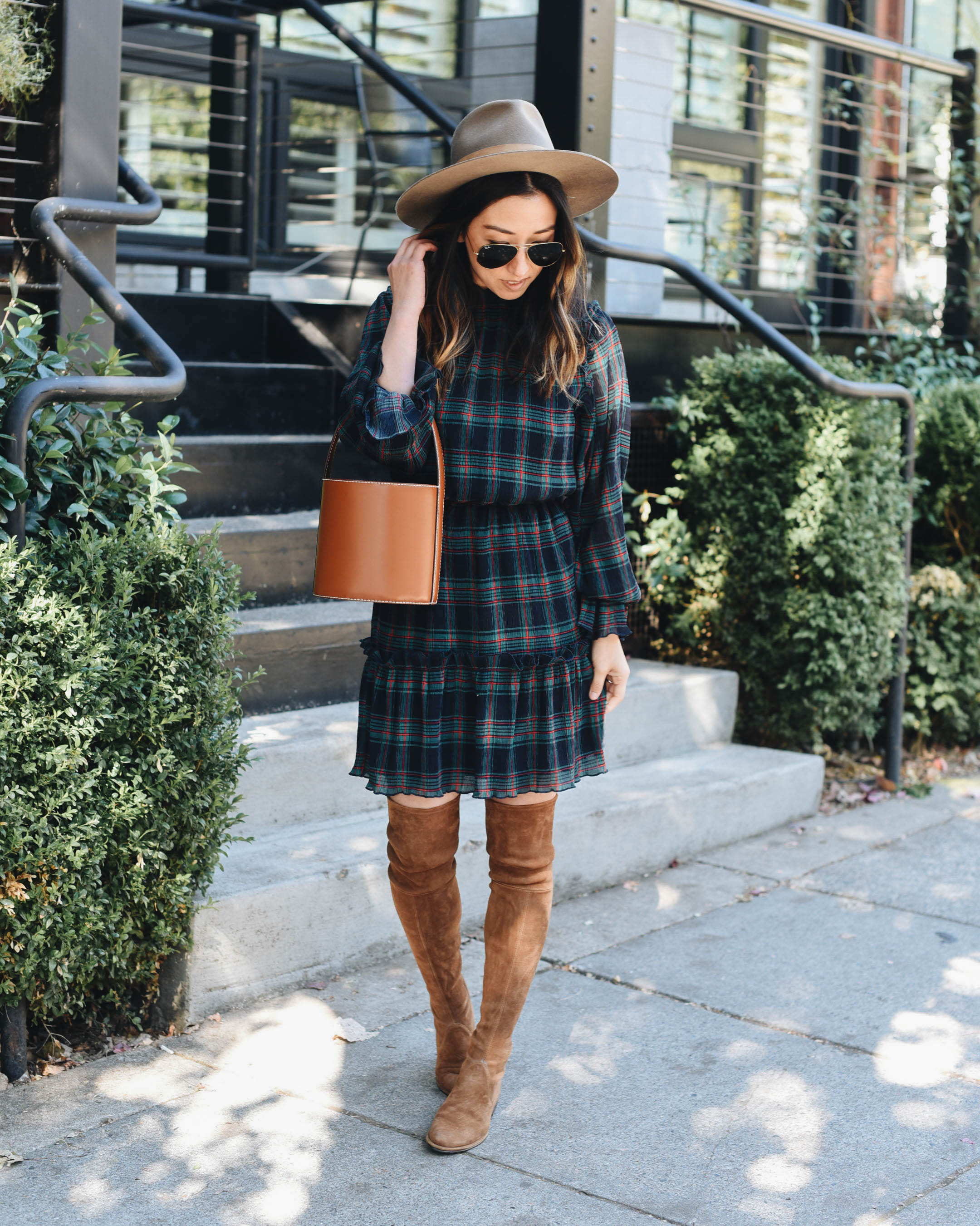 Plaid Dress 3