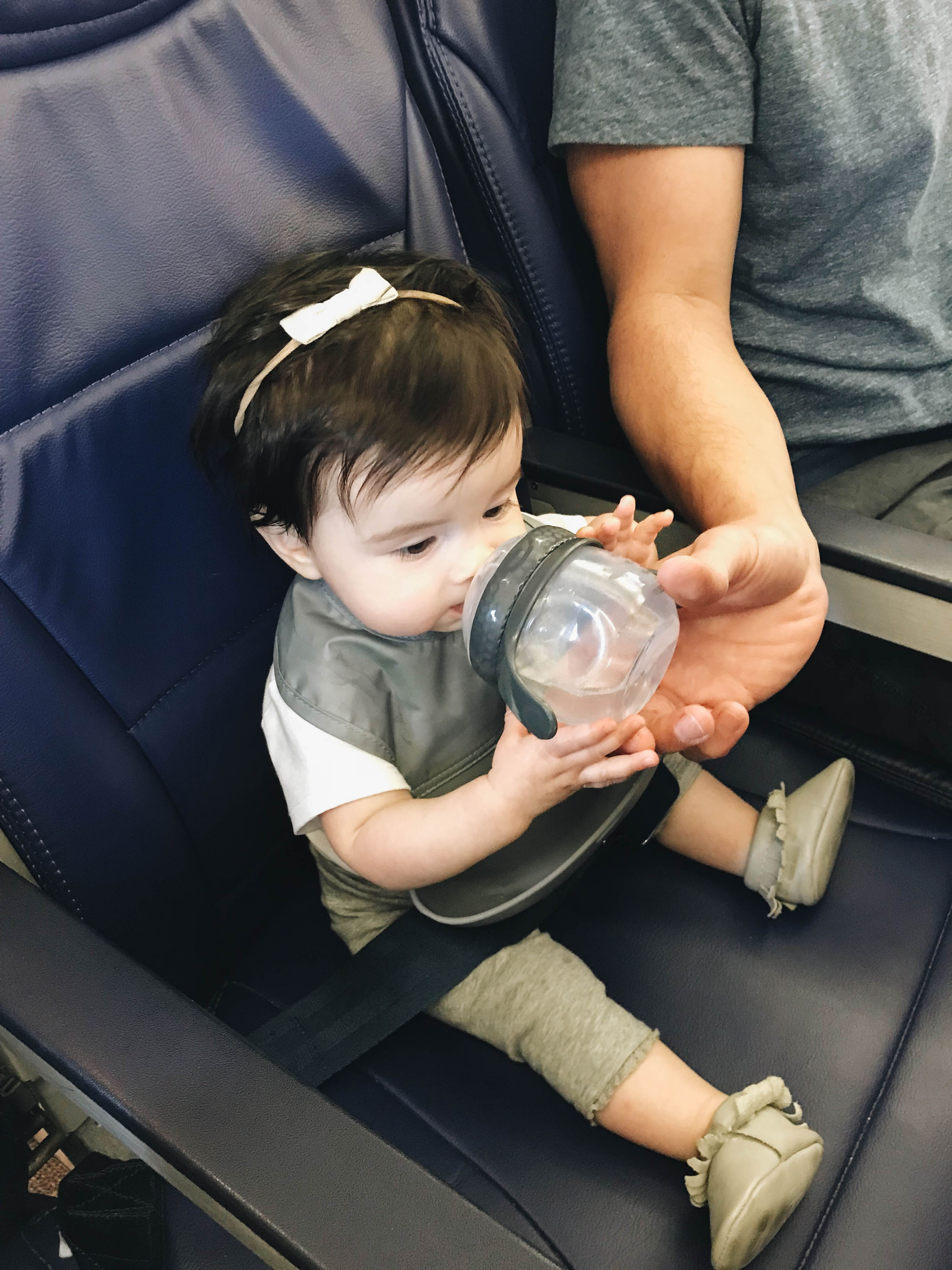 Baby on plane 3