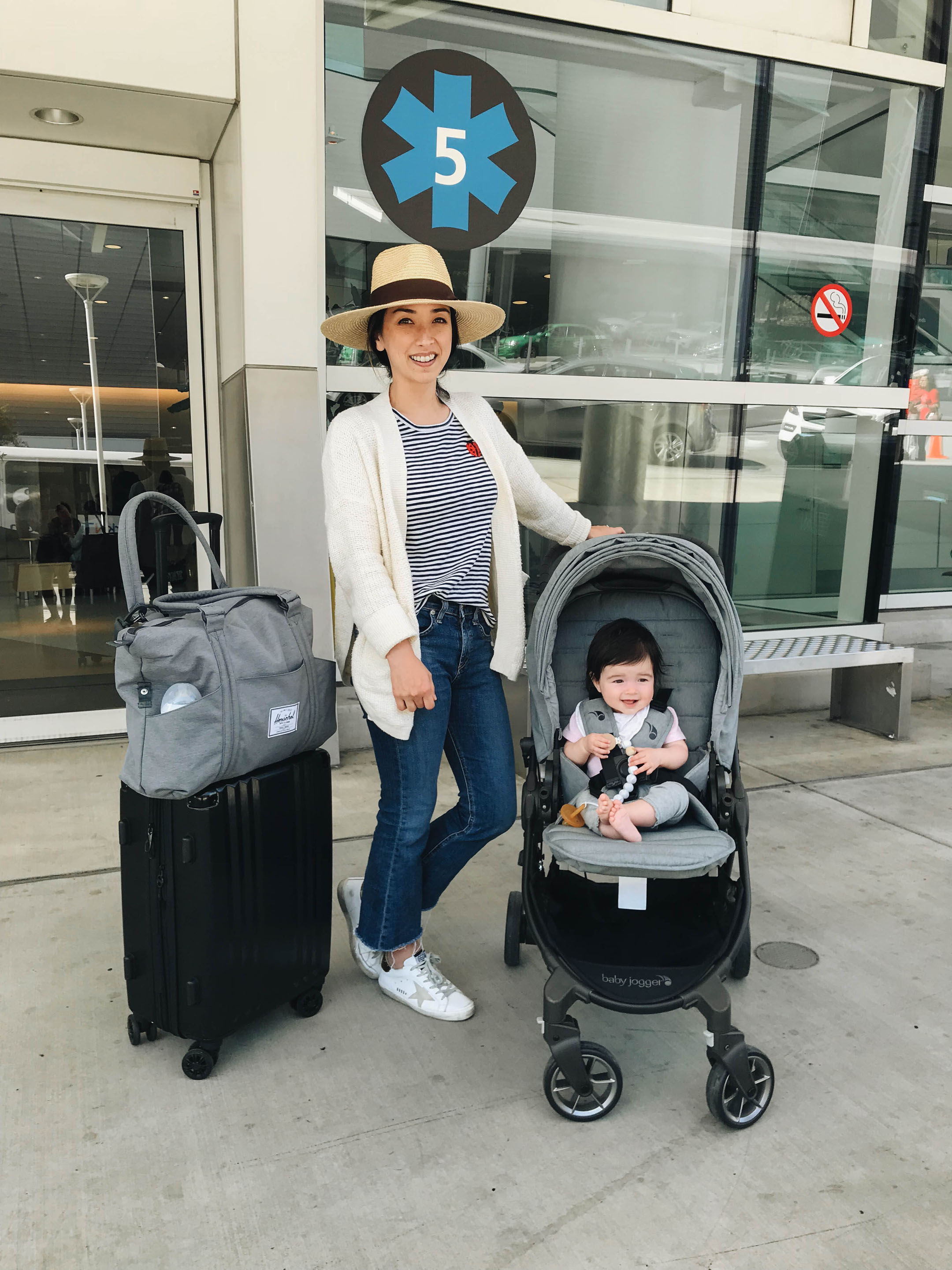 Crystalin marie travel with baby tips