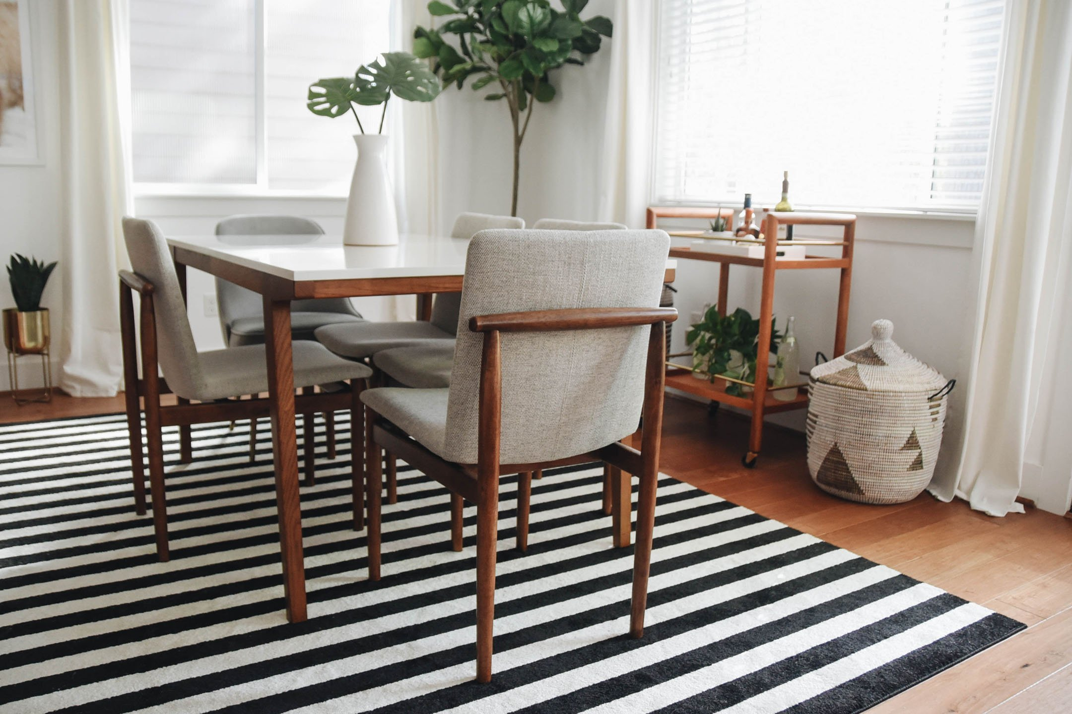 Framework Upholstered Dining Chair West Elm