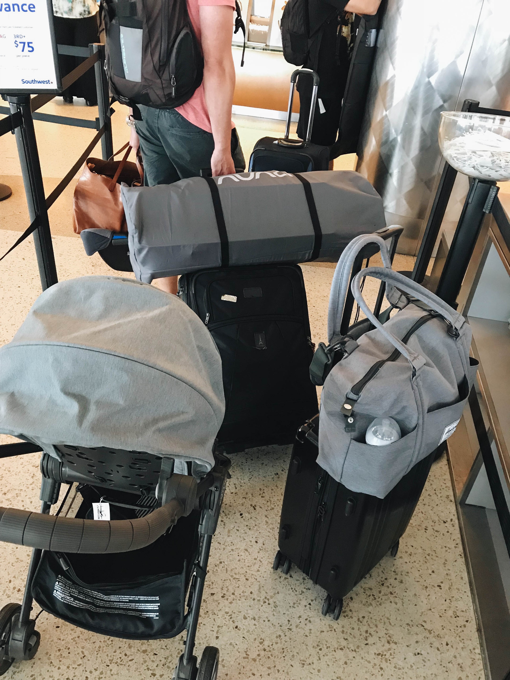 How to travel with a baby