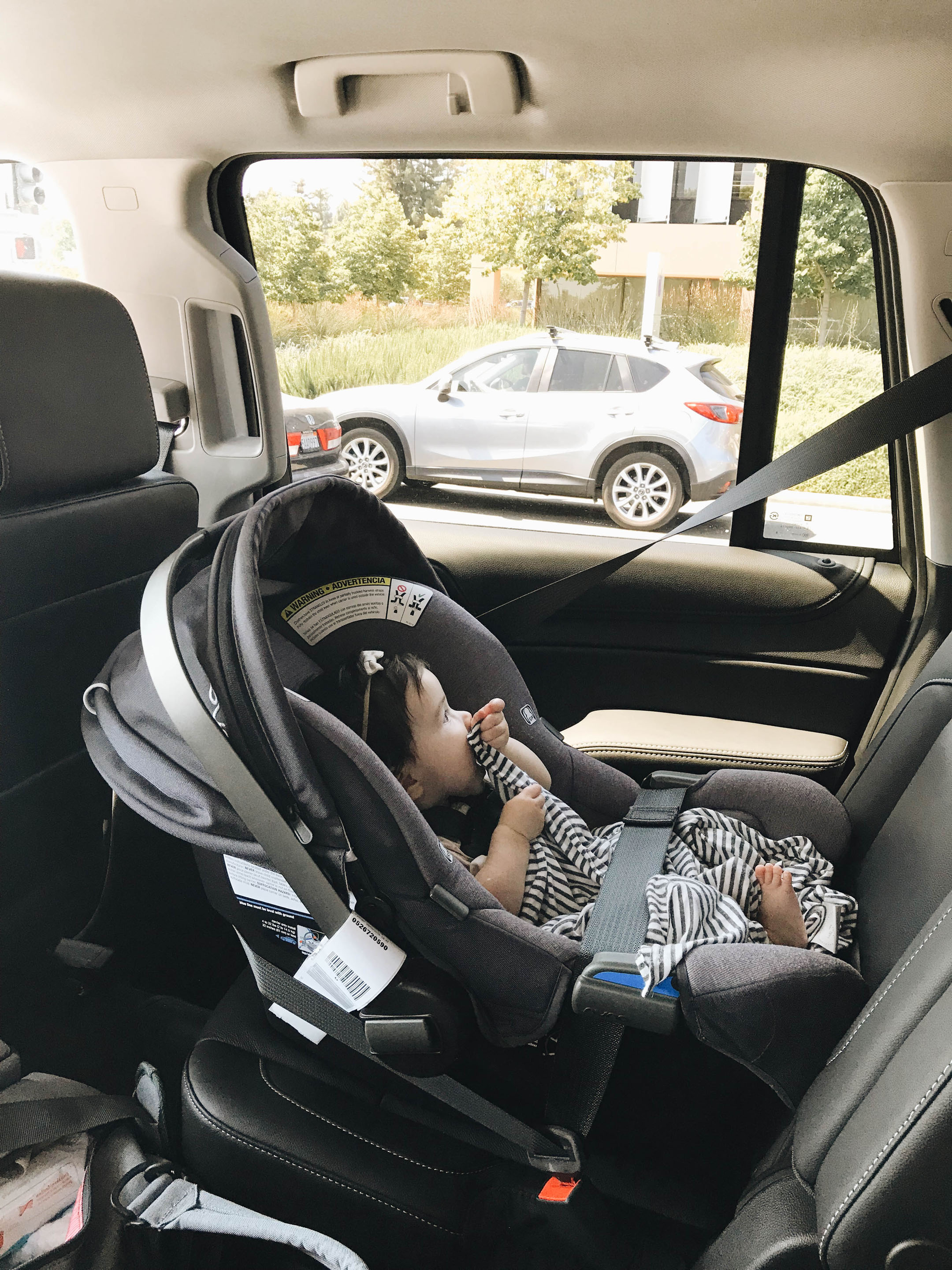 Nuna carseat without base