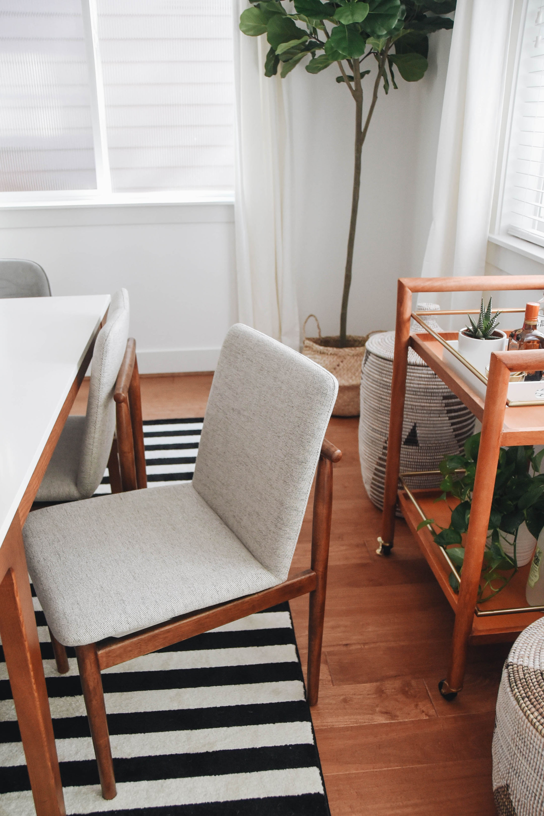 Dining Room Makeover With West Elm Crystalin Marie