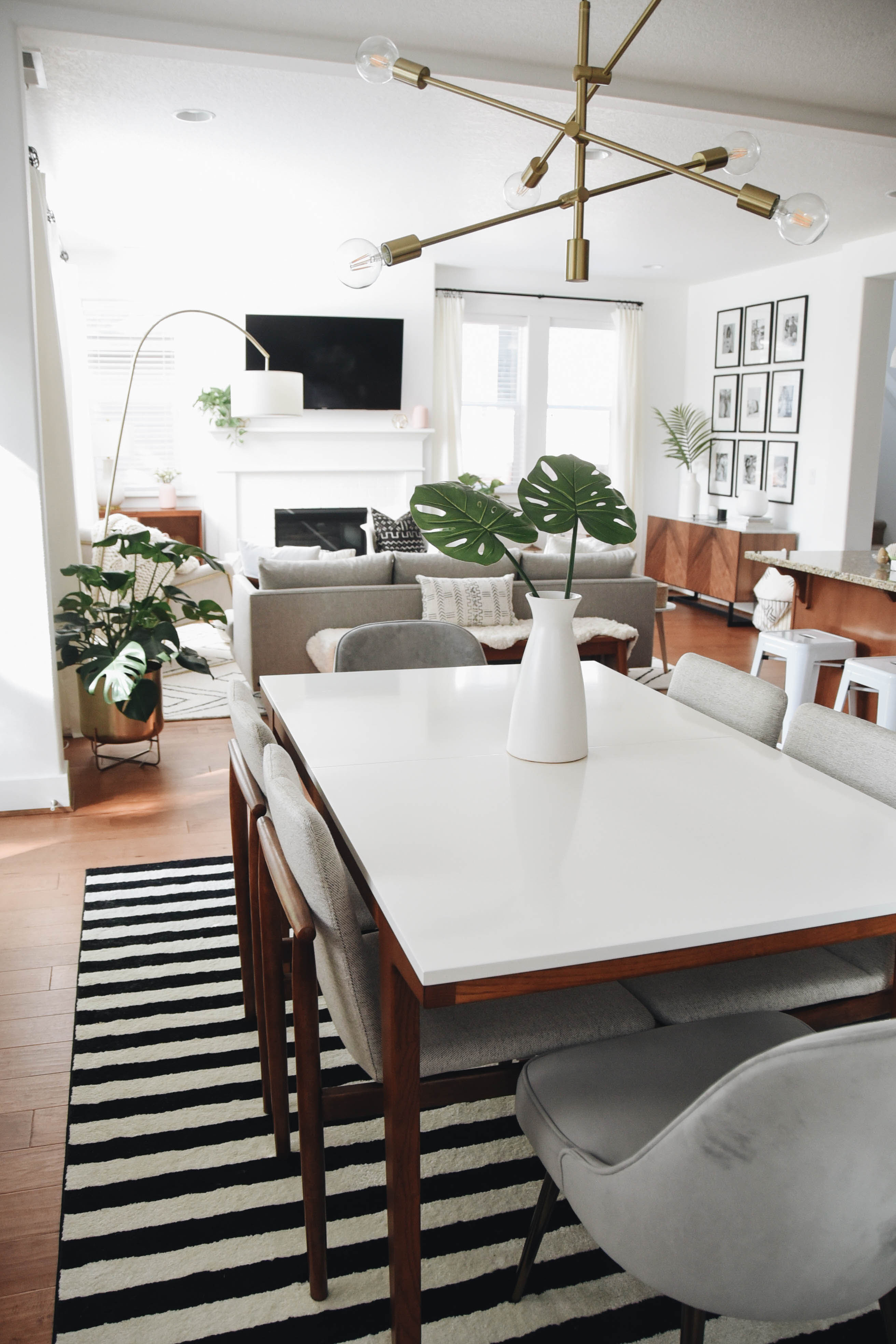 west elm dining room | Dining Room Makeover with West Elm - Crystalin Marie