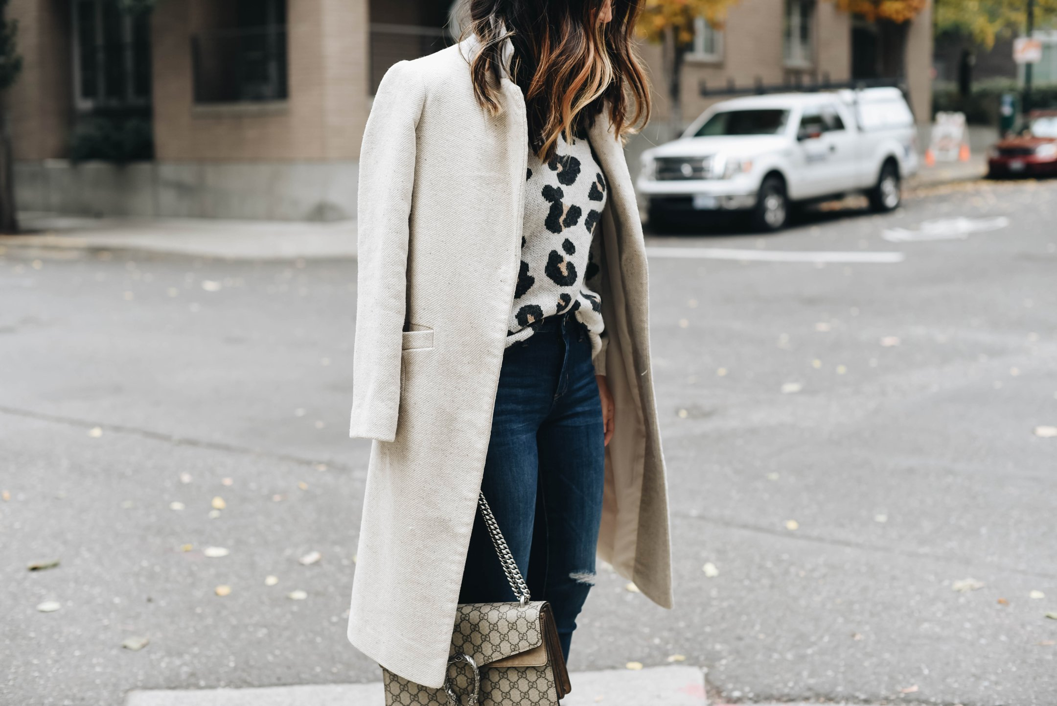 How to style a leopard sweater