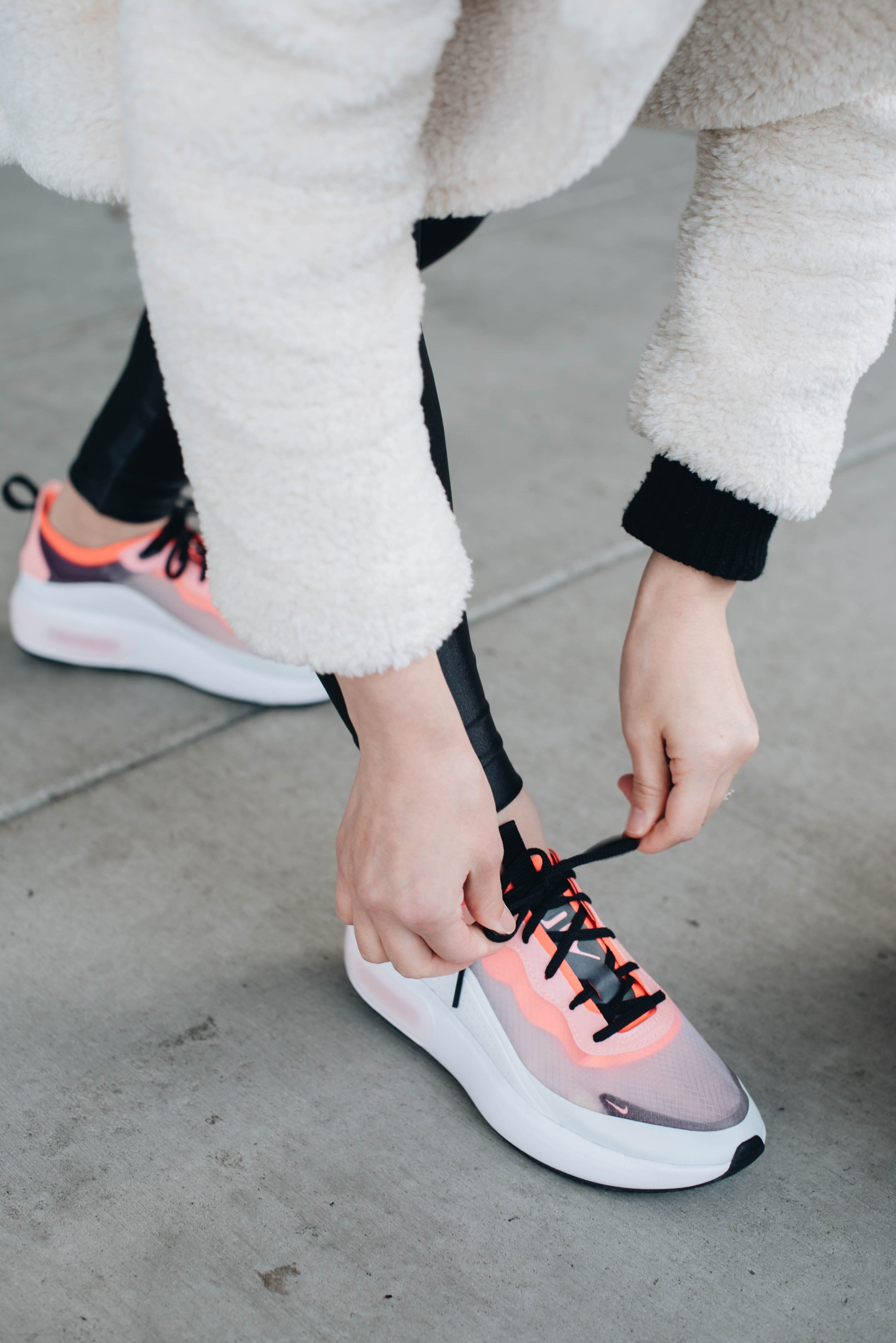 Athleisure Style in Nike Air Max Dia Crystalin Marie