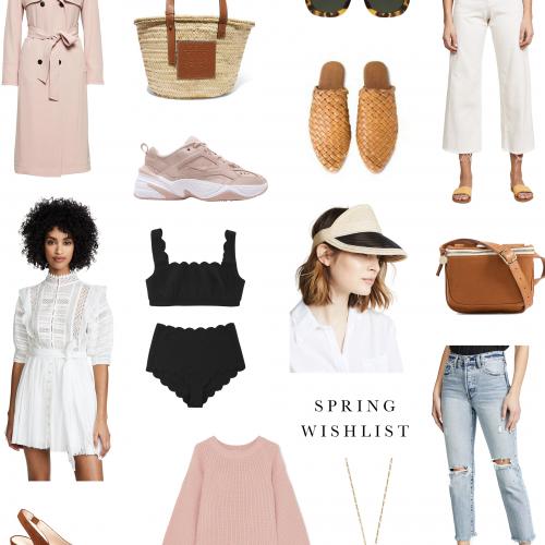 2019 Spring wishlist