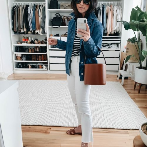Madewell denim shirt jacket