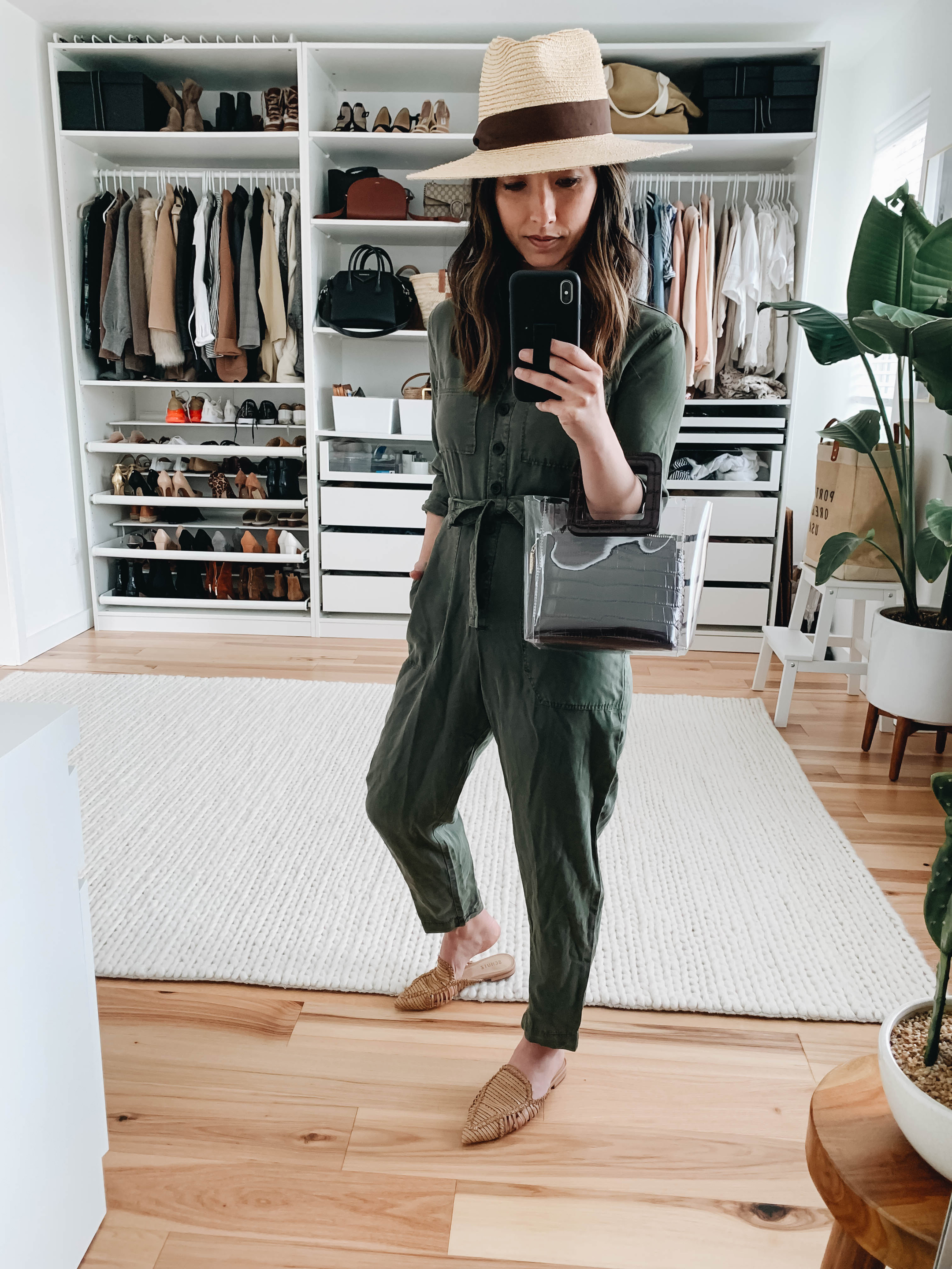 Abercrombie & Fitch utility jumpsuit