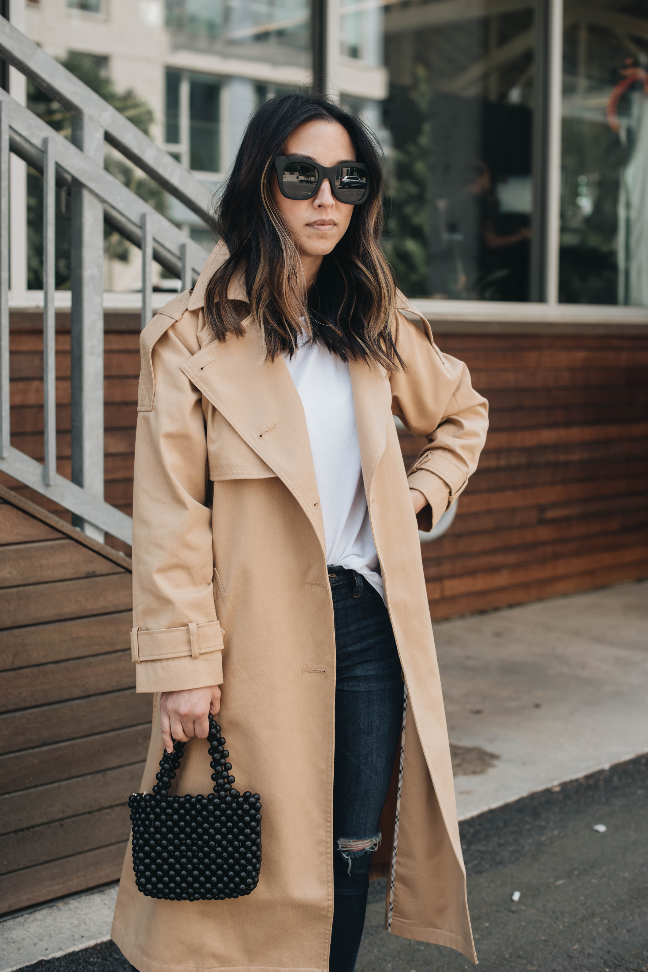 Asos oversized trench