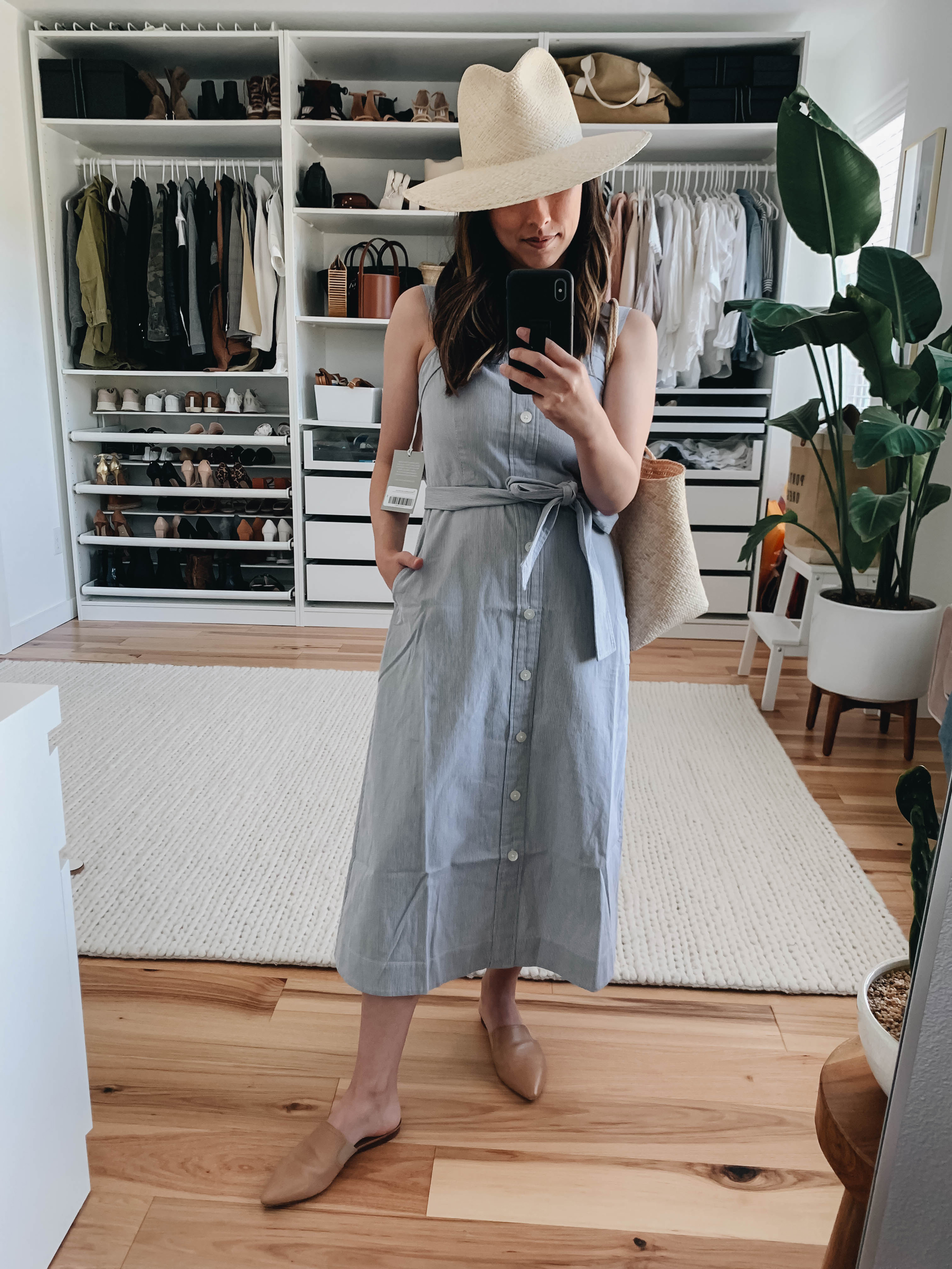 Everlane picnic dress