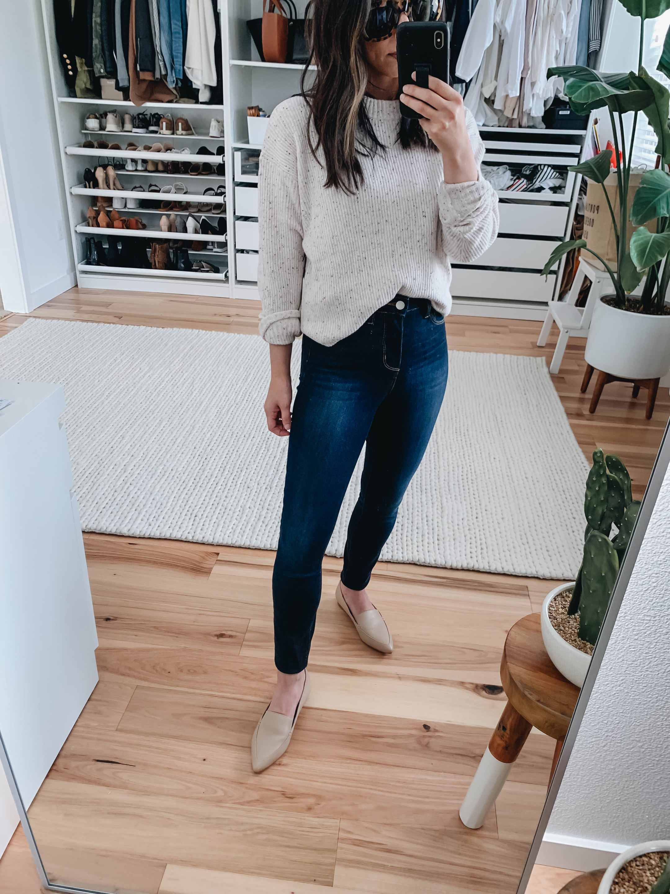 L'Agence High Waisted Jeans