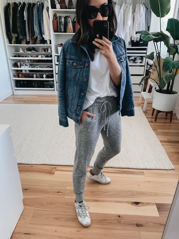 Gibson gray lounge pants