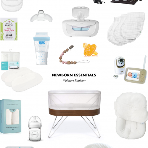 Walmart Registry Must Have Newborn Essentials