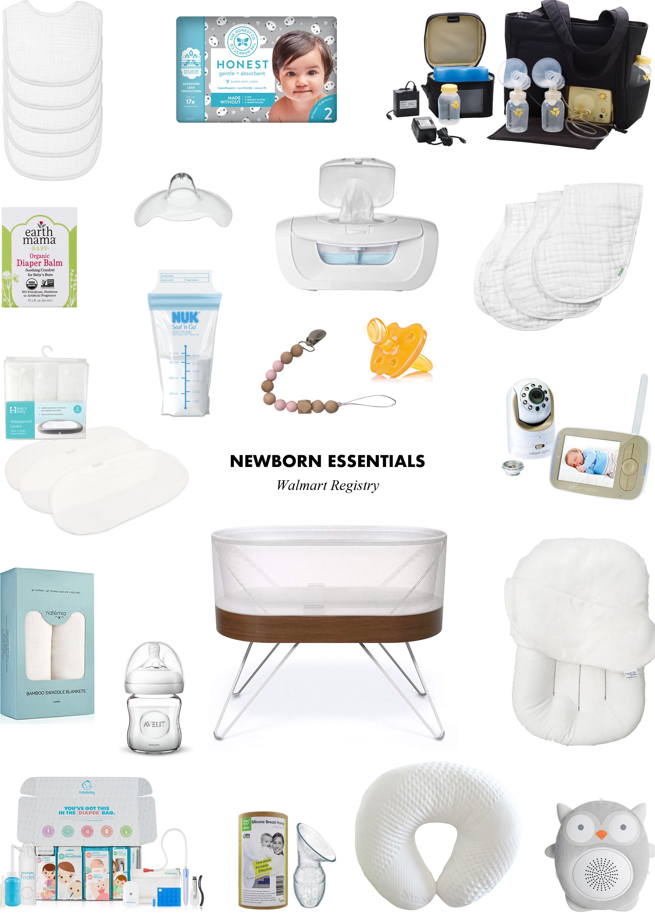 Walmart Registry Must Have Newborn Essentials