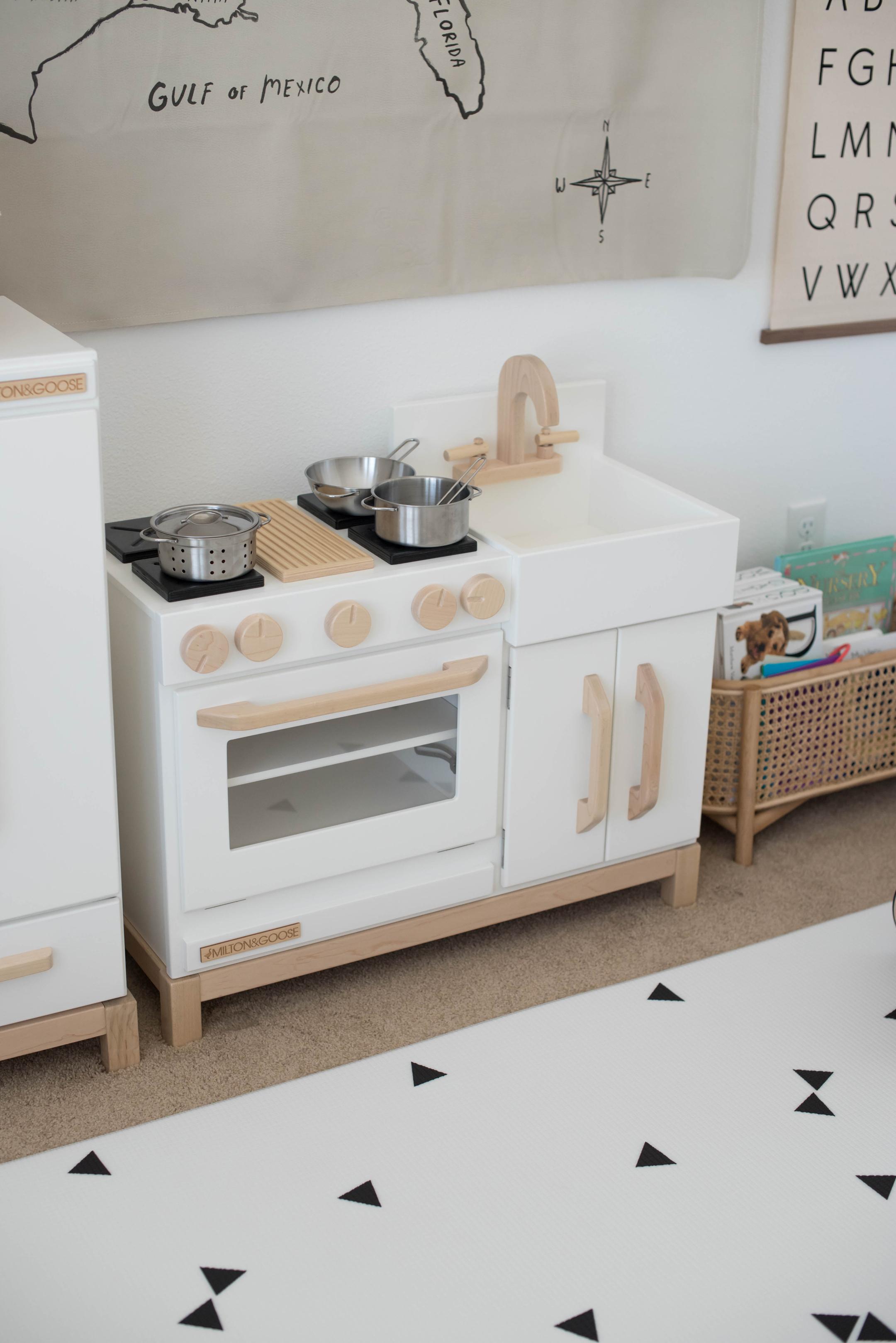 Milton & Goose Play Kitchen & Fridge Review - Crystalin Marie
