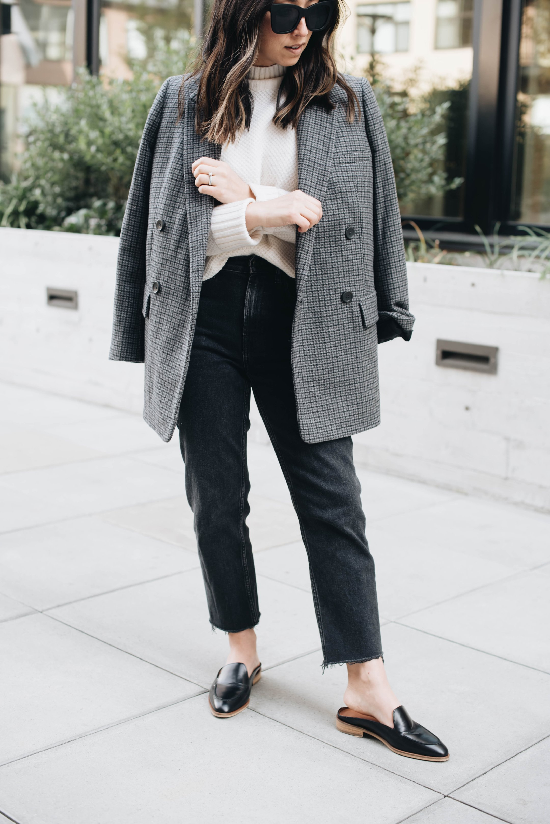 Everlane Oversized double breasted blazer
