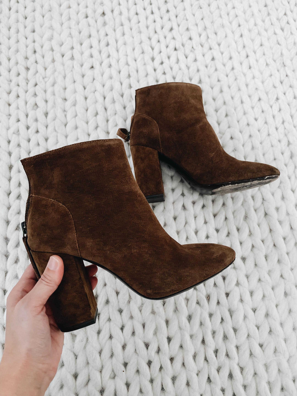 Ash Brown booties