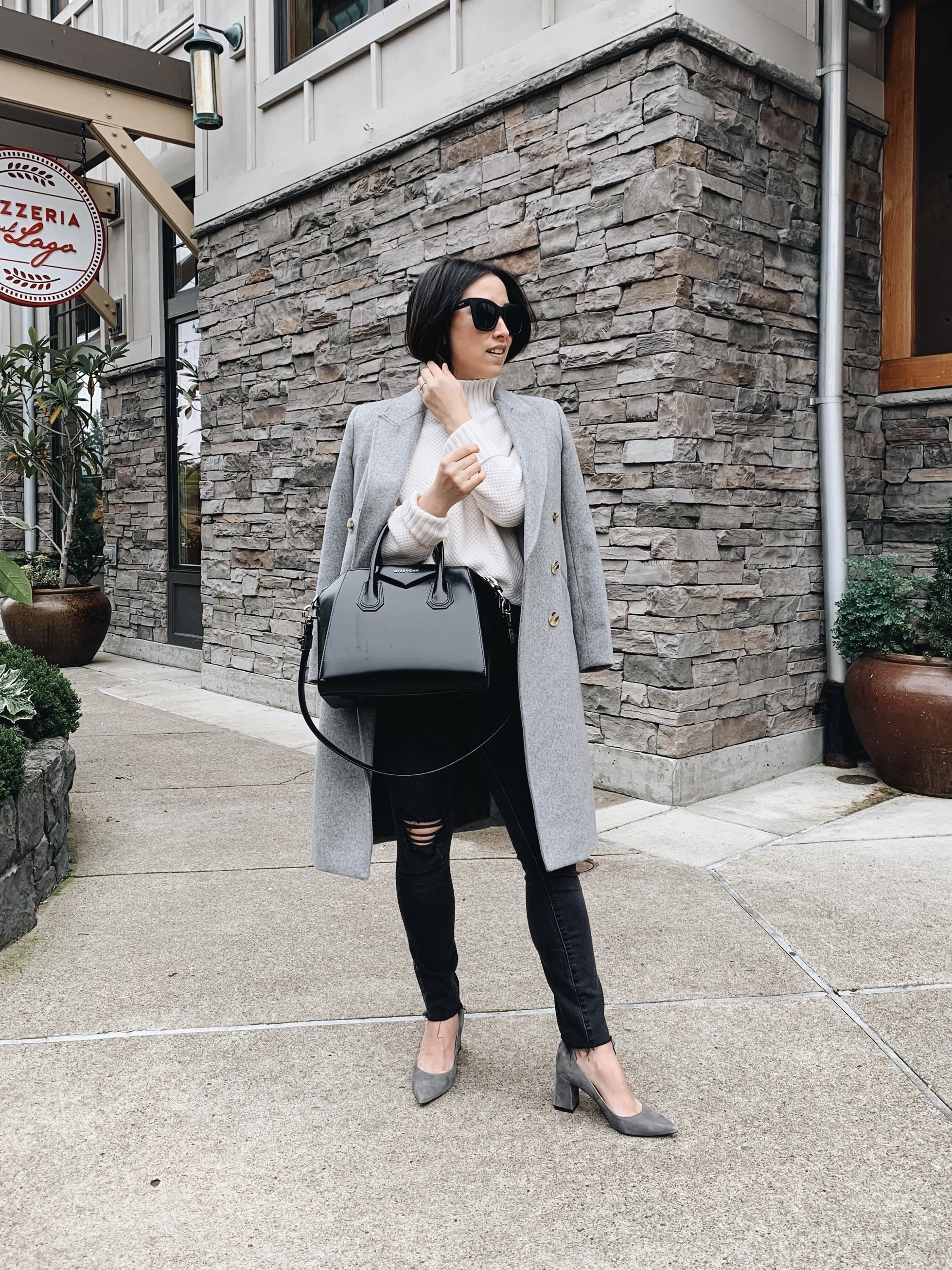 10 ways to style black and gray in the fall