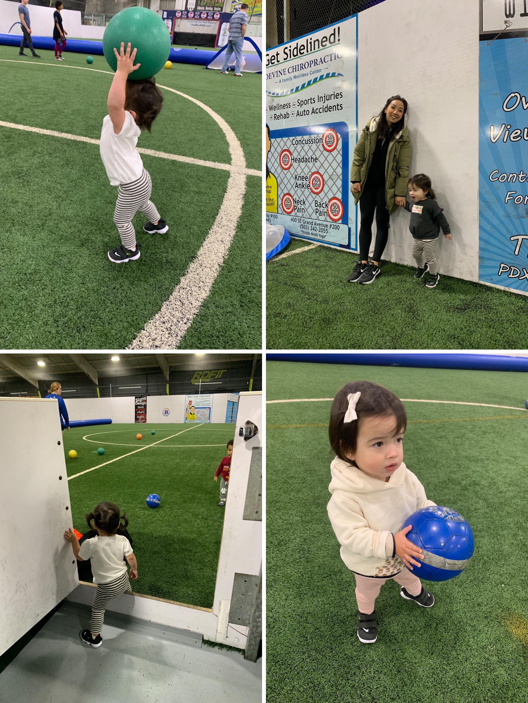 Started soccer