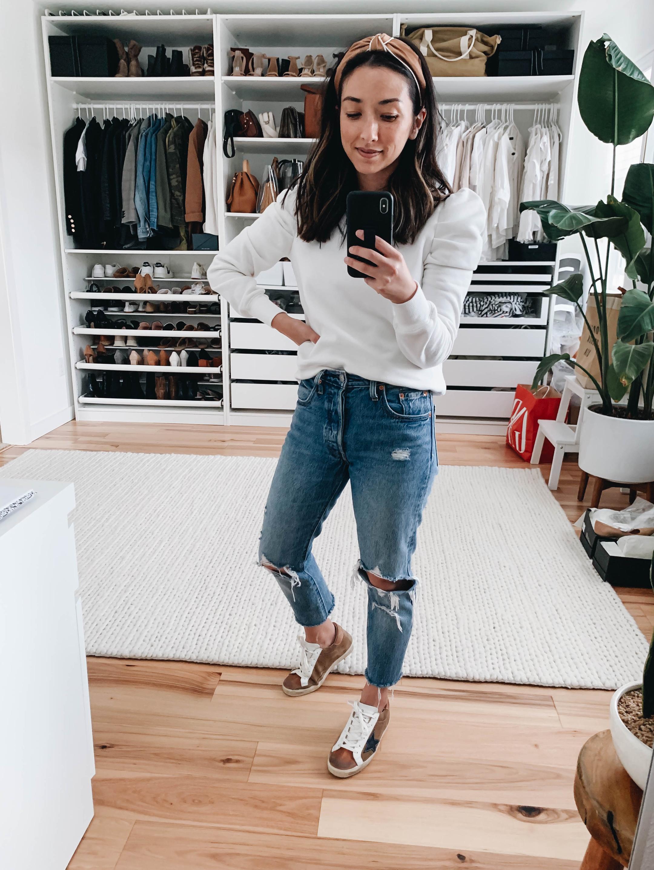 Rebecca Minkoff Puff sleeve sweatshirt